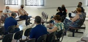 Chefe do NRE de Goioerê promove reuniões com os Secretários Municipais da Educação