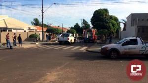 Uma mulher sofre ferimentos gravíssimos em acidente automobilístico em Goioerê