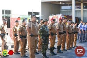 4ºBPM realiza solenidade alusiva ao patrono da PMPR em Maringá
