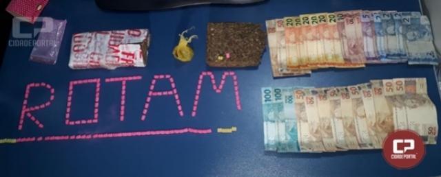 Polícia Militar realiza prisão por tráfico de drogas em Mandaguaçu