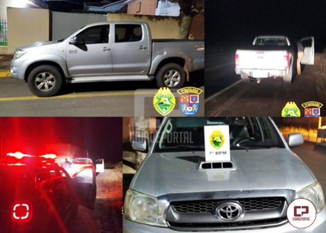 Polícia Militar de Tapejara age rápido e recupera veículo roubado momentos após o crime