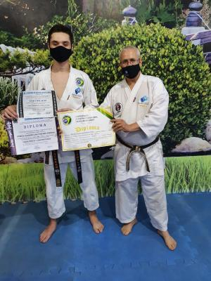 29º faixa preta da ACADEMIA ÁGUAS CLARAS Prof. e Sensei Mário Ronei Bento