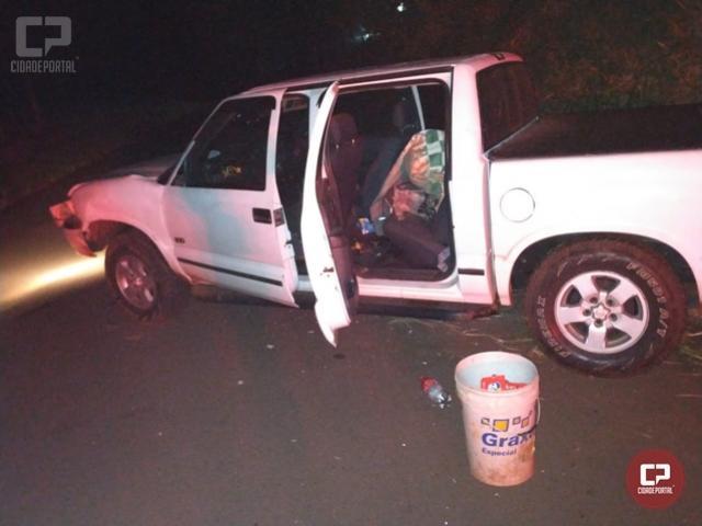 Policiais do 7º BPM recuperam carro furtado no município de Loanda e prendem duas pessoas em Tapira