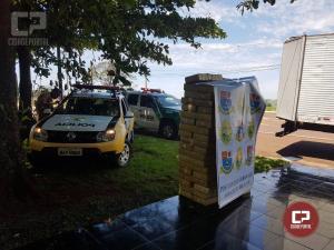 Polícia Rodoviária Estadual de Assis Chateaubriand realiza apreensão 990 kg de maconha