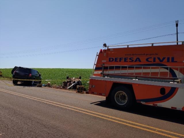 Tragédia em Nova Cantu: Eletricista perde a vida em acidente na manhã deste domingo, 22