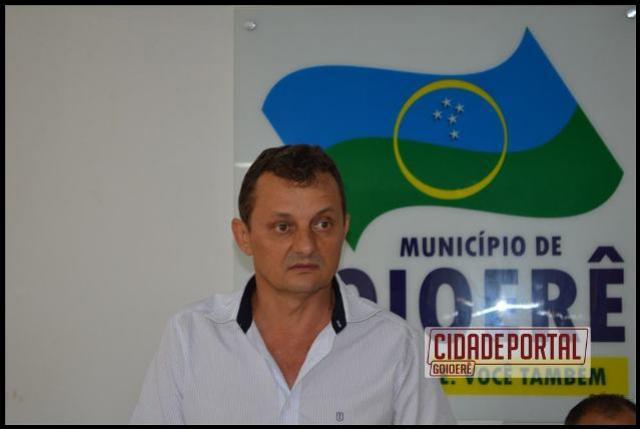 Pedro Coelho apresenta relatórios da situação da prefeitura municipal de Goioerê