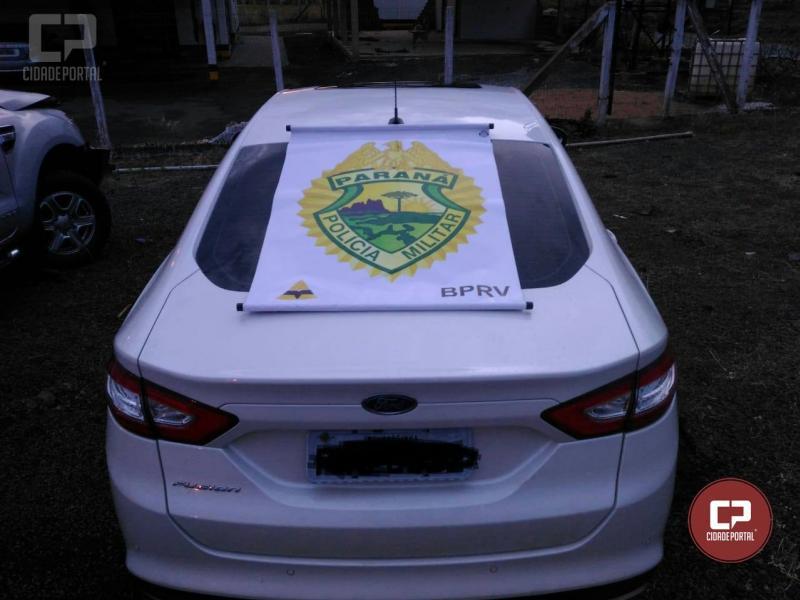 Posto Policial Rodoviário de Iporã recupera veículo com alerta de furto