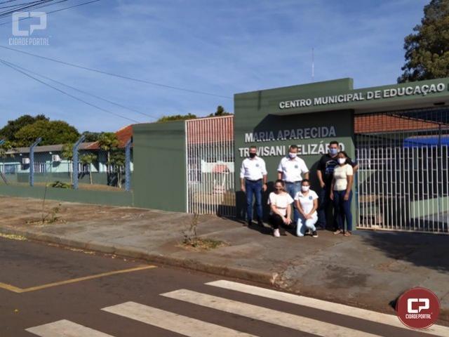 CMEI Belizário de Goioerê passa por reformas e agora conta com mais 3 salas de aula