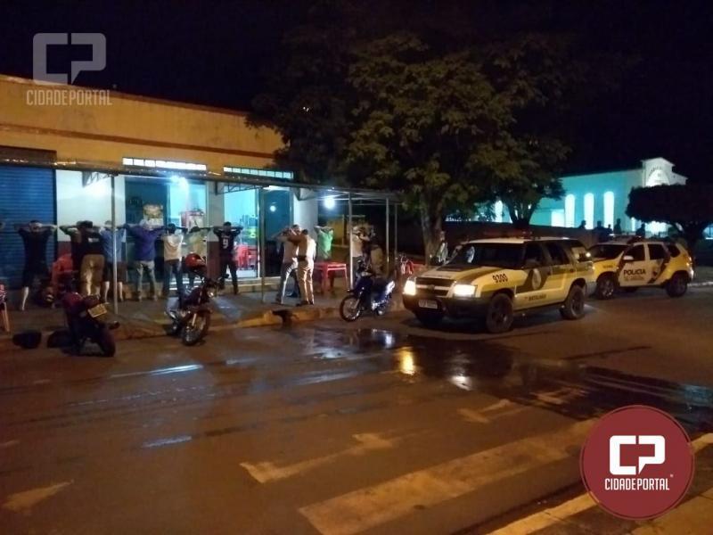 Polícia Militar deflagra operação Esforço Integrado e apreende 20 veículos e flagra motorista sem CNH