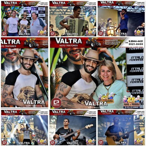 Fotos do Show e do Camarim do Ítalo Fernandes em Farol