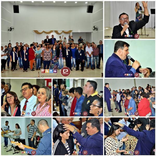 Cruzada de milagres da Igreja do Evangelho Quadrangular teve inicio na noite desta segunda-feira, 22