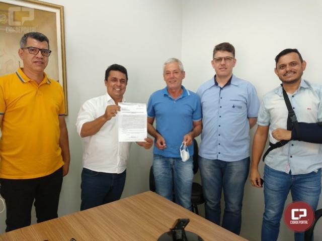 Betinho Lima recebe visita da diretoria do Observatório Social de Goioerê