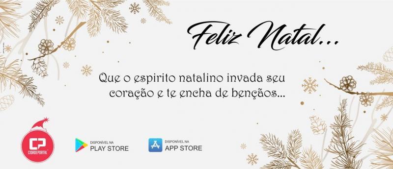 A Família Cidade Portal deseja a todos um Feliz Natal e um Ano Novo repleto de felicidade!