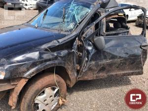 Três jovens morrem após acidente na BR 272 em Janiópolis