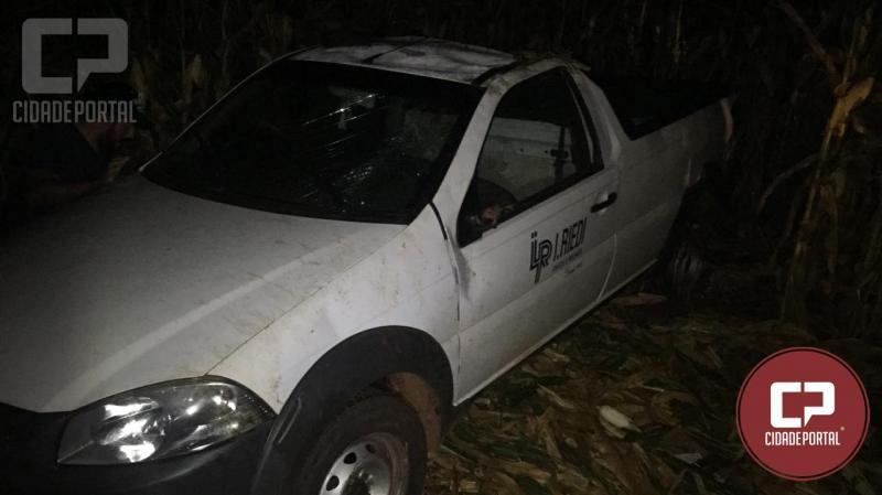 Dois homens são presos pela Polícia Militar em Engenheiro Beltrão após furto de agrotóxicos e veículos em cooperativa