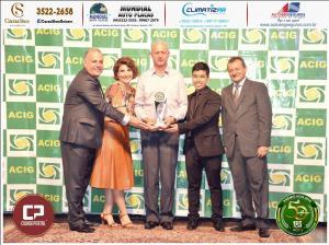 Recon Tornearia e Peças Agrícolas recebeu prêmio Acig Melhores do Ano 2018
