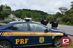 PRF flagra quase 400 ultrapassagens proibidas durante o feriado no Paraná