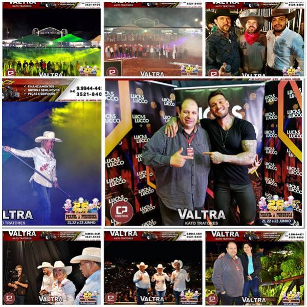 Galeria de Fotos do Show do Lucas Lucco do 26º aniversário de Farol