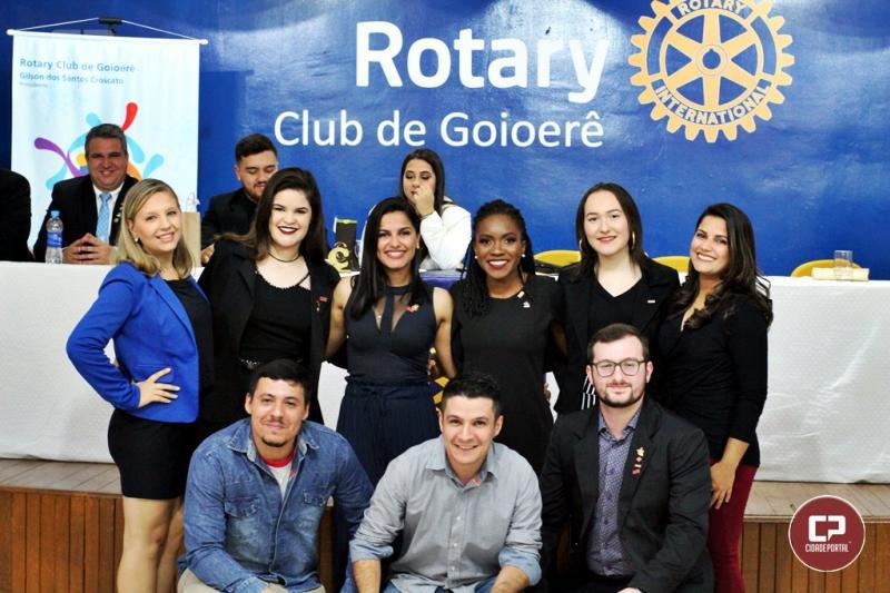 Rotaract e Interact dos clubes de Goioerê realizam posse da Nova Diretoria para 2019/20