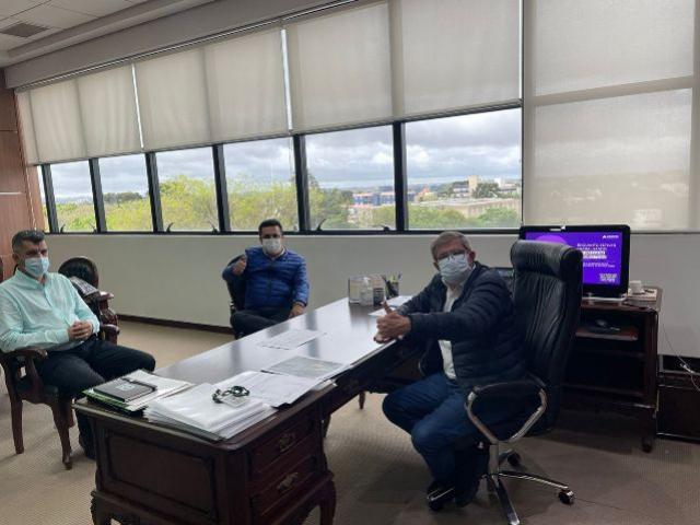 Prefeito Betinho Lima visita presidente da Cohapar e cobra agilidade na regularização fundiária