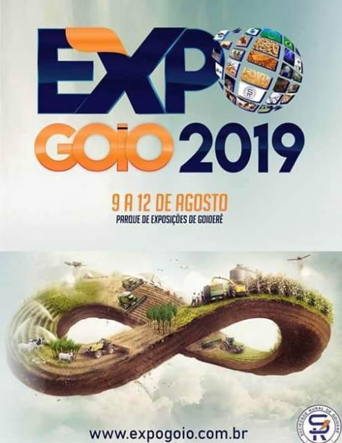 Expo-Goio 2019 será lançada nesta quinta-feira na Sociedade Rural de Goioerê