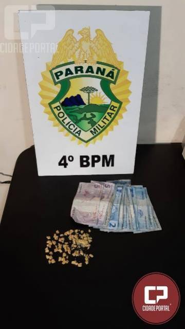 Polícia Militar prende mulher por tráfico de drogas em Paiçandu