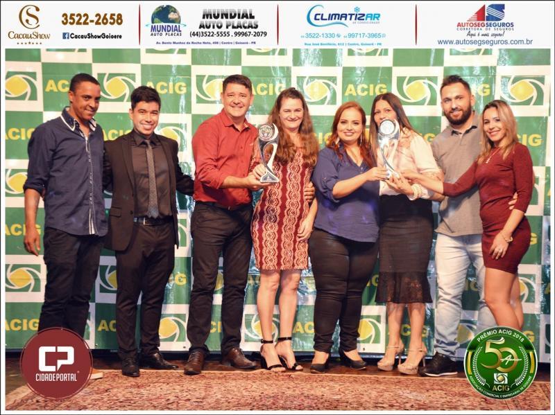 Mão na Arte recebe dois prêmios na categoria decoração no Melhores do Ano Acig 2018
