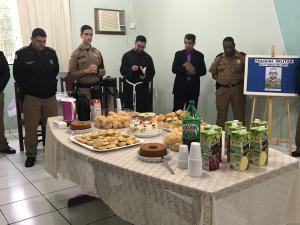 7º BPM Realiza café da manhã para homenagear e parabenizar Policiais Militares em cruzeiro do Oeste