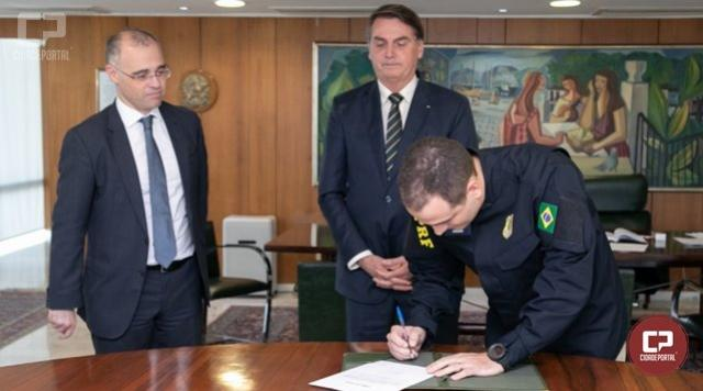 Eduardo Aggio toma posse como novo Diretor-Geral da PRF
