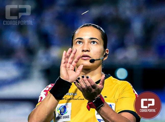 Goioerense Edina Alves fará parte do quadro de árbitros da Copa do Mundo Sub-17