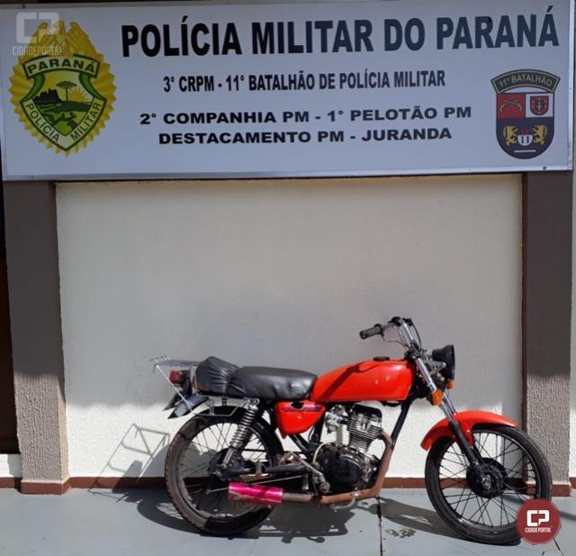 Polícia Militar de Juranda encaminha mãe e filho para a Delegacia por receptação