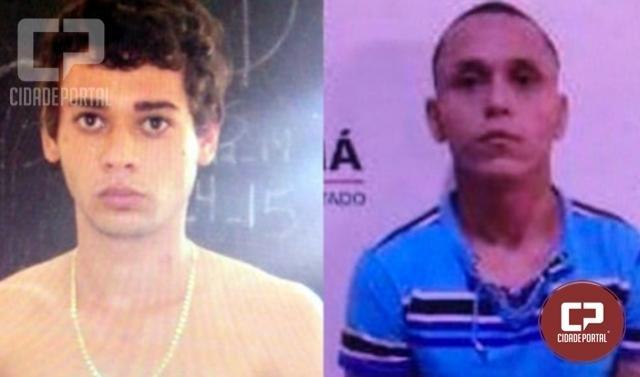 Dois detentos fugiram da cadeia da delegacia em Cidade Gaúcha neste domingo, 23