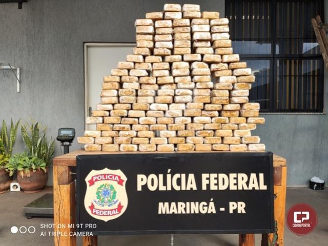 Polícia Federal apreende mais de 150 quilos de crack em Maringá
