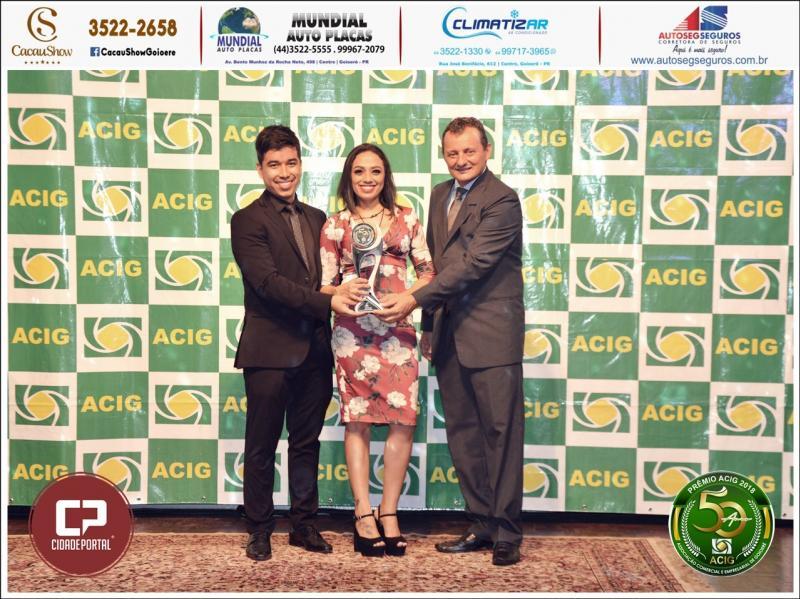 Auto Posto Garcia recebe Prêmio Acig - Melhores do Ano 2018