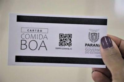 Cartão Comida Boa está disponível para retirada até esta sexta-feira, 29, em Goioerê