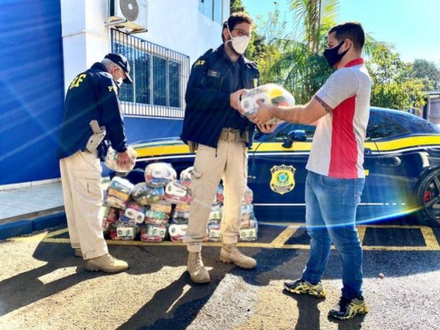 Campanha de arrecadação de alimentos atinge 5 toneladas no Paraná