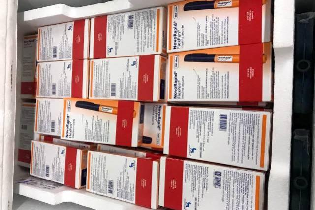 Estado finaliza compra emergencial de insulina, distribuição às regionais de saúde já começou