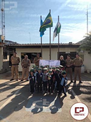 Polícia Militar de Sarandi recebe homenagem pelo Dia do Soldado