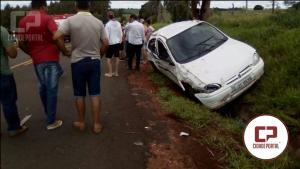 Acidente entre Moreira Sales e Paraná do Oeste deixa uma vítima fatal e 3 feridos