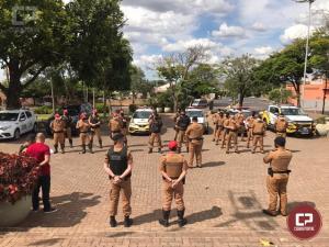 PM lança Operação Sinergia e 7º BPM a efetiva em Cruzeiro do Oeste e demais municípios de sua área