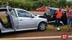 Após pneu de moto estourar, grave acidente acontece entre Campo Mourão e Peabiru na PR-158