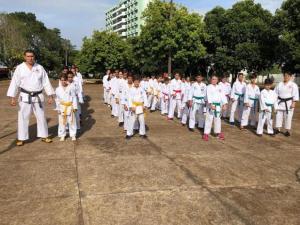 Goioerê tem 1ª etapa do Campeonato Paranaense de Karatê Do-tradicional