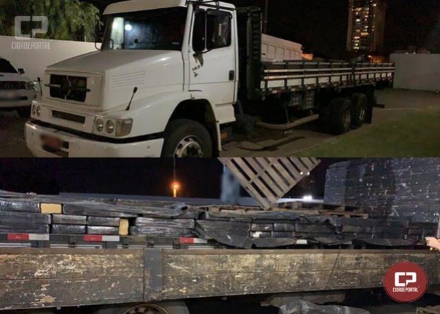Polícia Federal e Militar apreendem mais de três toneladas de maconha em Maringá