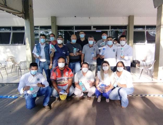 Dia do motorista: Profissionais da Secretaria de Saúde de Goioerê são homenageados