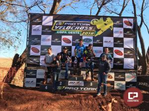 Pilotos da equipe VX Racing de Goioerê se destacam em mais uma prova de Velocross em Palmitópolis