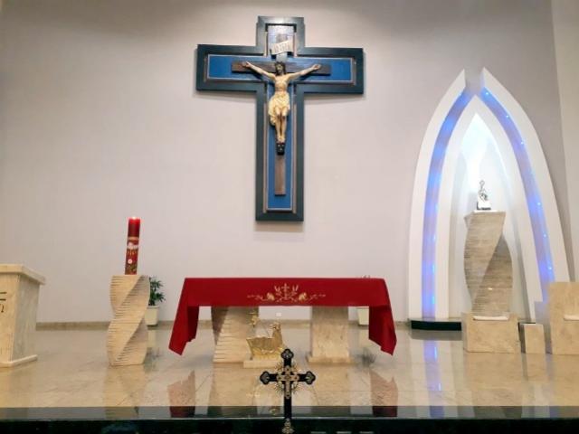 Goioerê é uma das únicas cidades que possui a relíquia com fragmentos da Cruz de Cristo