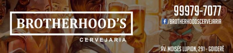 Social desta sexta-feira, 27 - na BROTHERHOOD'S Cervejaria