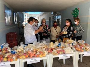 Projeto Alimento Solidário mobiliza sociedade para doar frutas, verduras, legumes