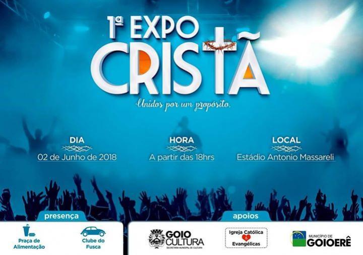 Definida a ordem das apresentações da 1° Expo Cristã de Goioerê que será dia 02 de Junho