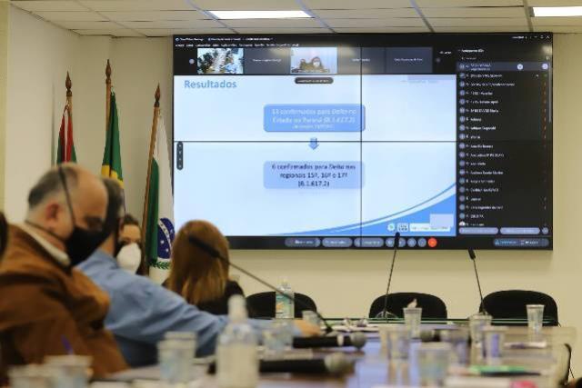 Paraná confirma transmissão comunitária da variante delta e mais 16 casos